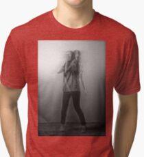 Black & White Motion Blur  Tri-blend T-Shirt