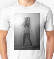 Black & White Motion Blur  Unisex T-Shirt