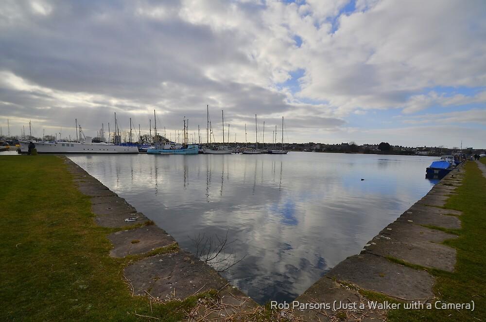 Lancashire: Glasson Dock by Robert parsons