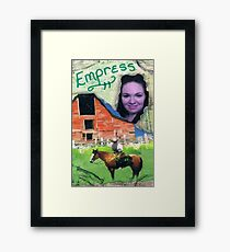 Earth Empress Framed Print
