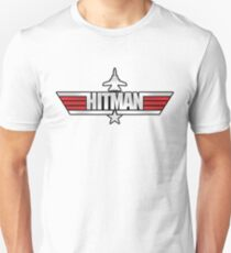 Custom Top Gun Style - Hitman T-Shirt