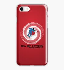 Men of Letters iPhone Case/Skin