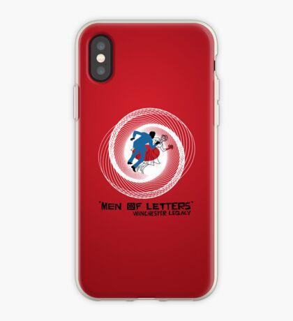 Men of Letters iPhone Case