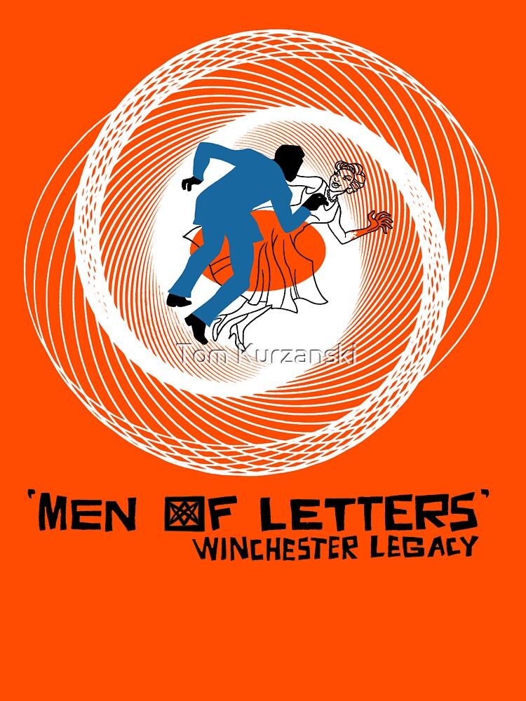 Men of Letters by tomkurzanski