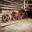 Gears at West Point on The Eno in Durham, NC by Julie Conway