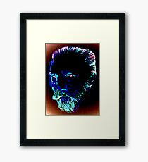 Blue Vincent Framed Print
