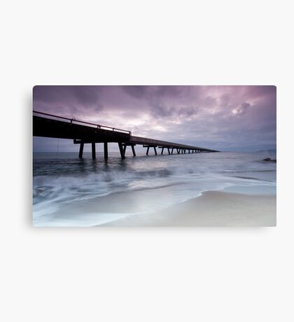 Out To Sea - Lucinda Jetty Canvas Print