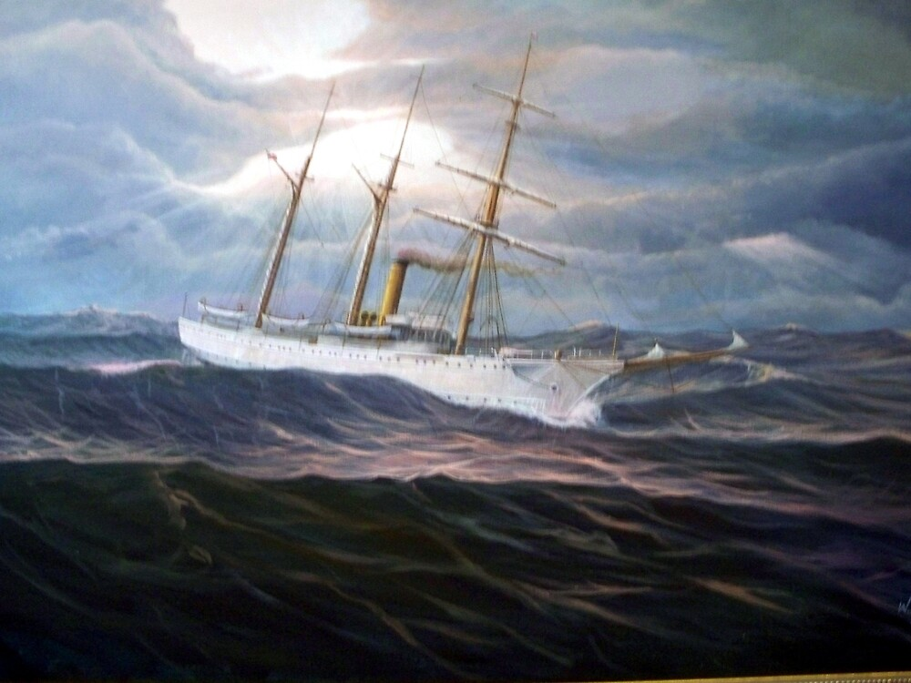 U. S. Coast Guard Academy Training Ship Chase by William H. RaVell III