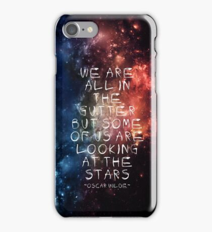 Get Out The Gutter iPhone Case/Skin