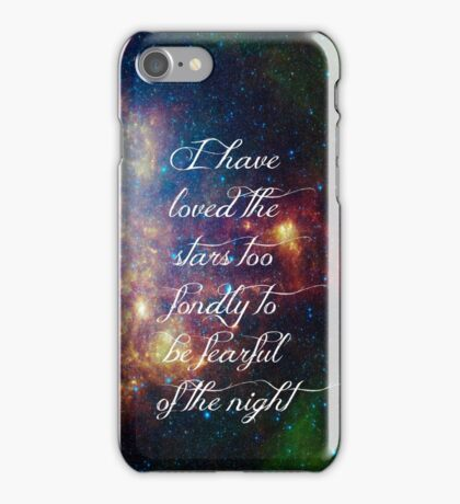Love the stars iPhone Case/Skin