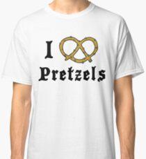I Love Pretzels Classic T-Shirt