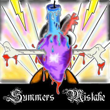 Summers Mistake Nociceptor Plain Logo by SummersMistake