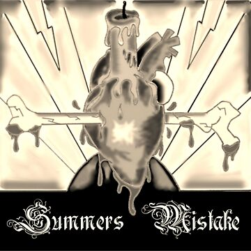 Summers Mistake Nociceptor Sepia Logo by SummersMistake