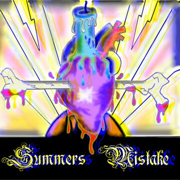 Summers Mistake Nociceptor 3D Yellow Logo by SummersMistake
