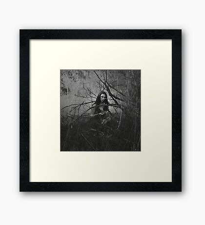 Gifts from the darkness Framed Print