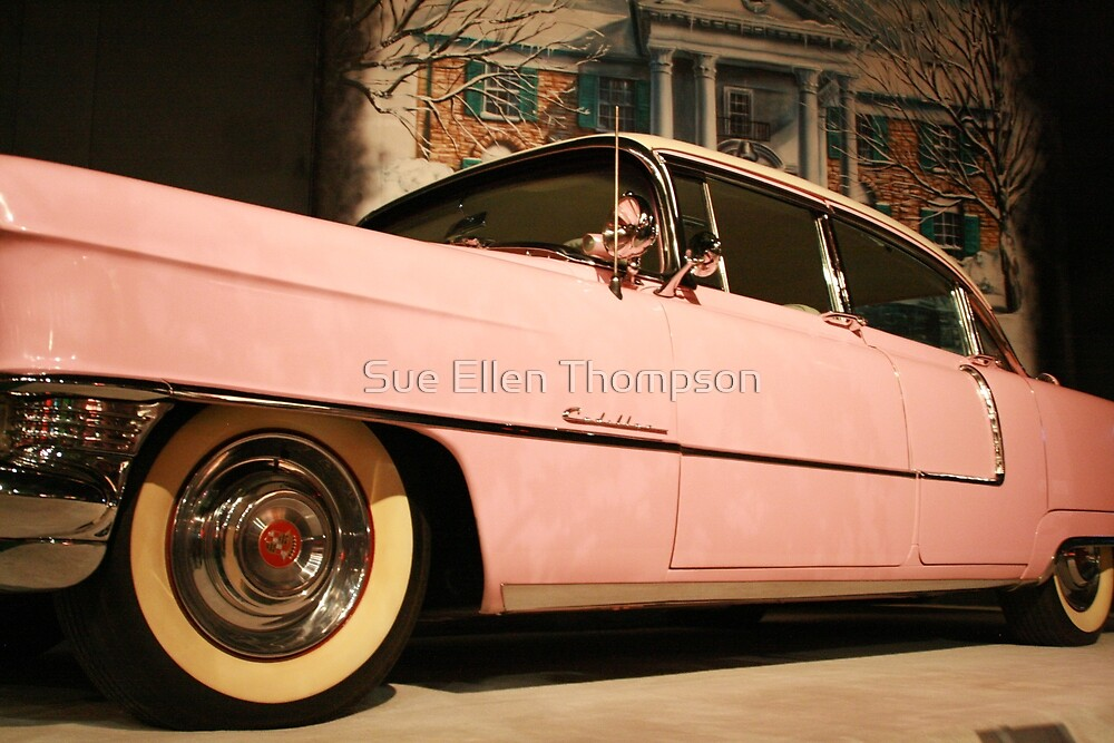 Elvis' Cadillac  by Sue Thompson
