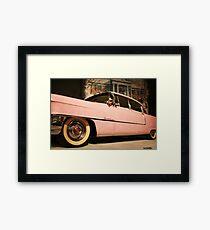 Elvis' Cadillac  Framed Print