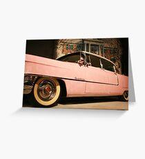 Elvis' Cadillac  Greeting Card
