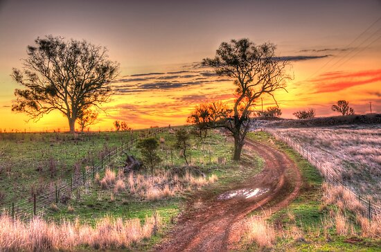 Return Journey - Cootamundra, NSW - The HDR Experience by Philip Johnson