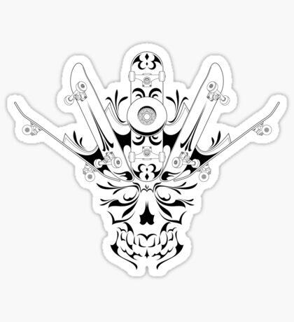 Skate King Sticker