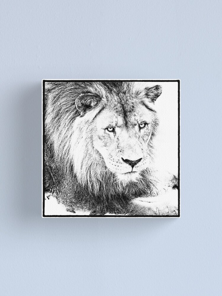 Alternate view of The King Canvas Print