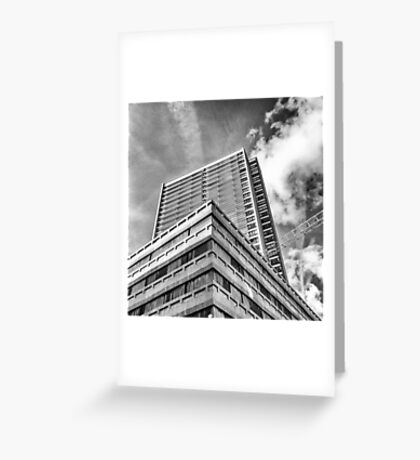 High on the Top Greeting Card