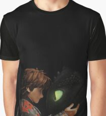 Hiccup & Toothless - Dragon Trainer Graphic T-Shirt