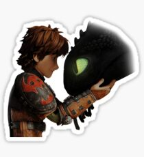 Hiccup & Toothless - Dragon Trainer Sticker