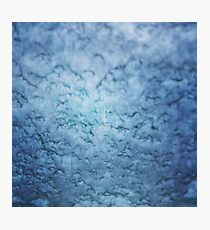 Frozen windscreen Photographic Print