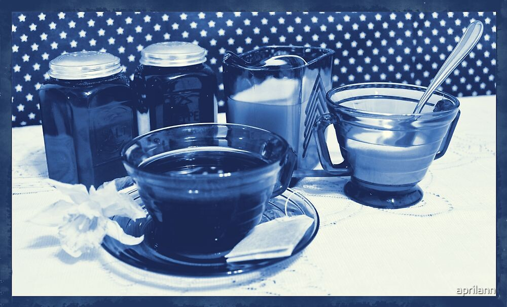 Stay for Tea, Please! by aprilann