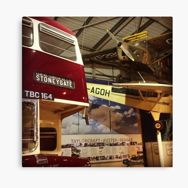 Snibston Discovery Museum Canvas Print