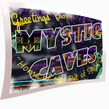 Greetings from 'Mystic Caves'! by ArrowValley