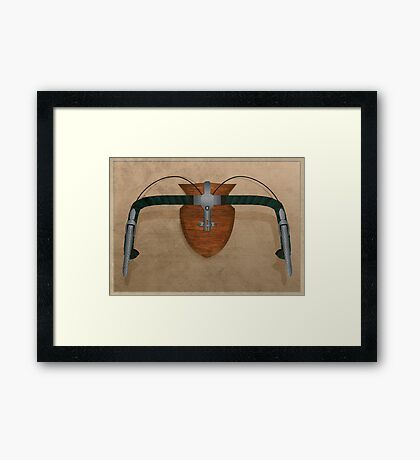 Bike Hunter Framed Print