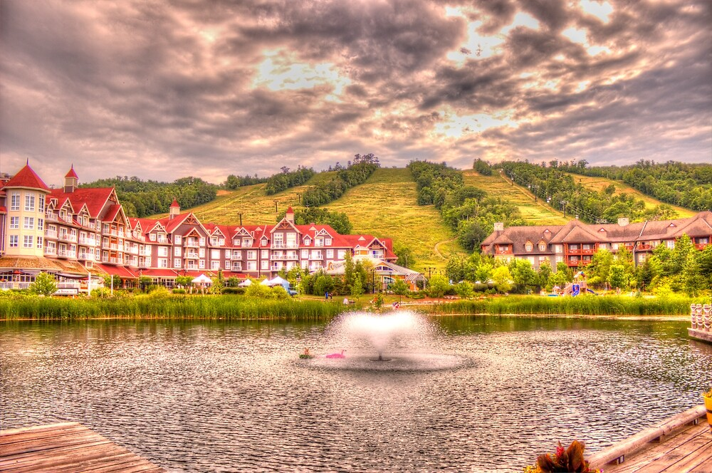 Blue Mountain - HDR - 2 by John Velocci