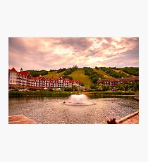 Blue Mountain - HDR Photographic Print