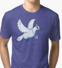 The Hippie Dove Tri-blend T-Shirt