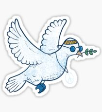 The Hippie Dove Sticker