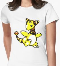 Ampharos Retro Women's Fitted T-Shirt