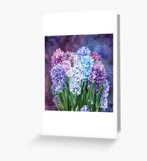 Hyacinth Bouquet 1 Greeting Card