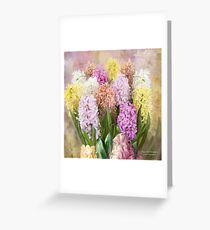 Hyacinth Bouquet 2 Greeting Card