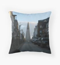 Monolith at the Top Wide Throw Pillow