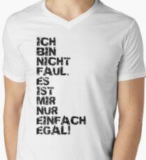 Faul Mens V-Neck T-Shirt