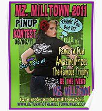 Mz.Milltown 2011 Poster