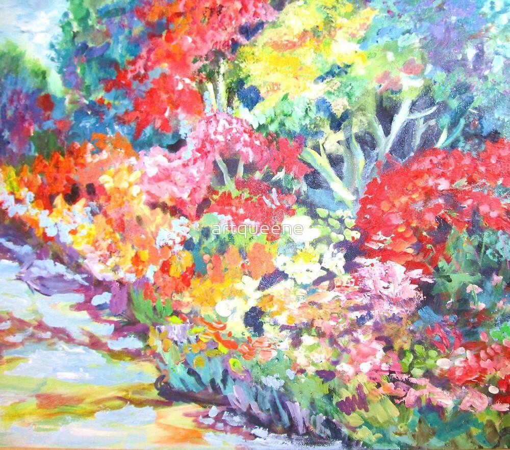 Spring Walk by artqueene