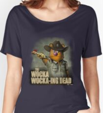 The Wocka Wocka-ing Dead Women's Relaxed Fit T-Shirt