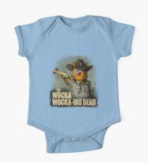 The Wocka Wocka-ing Dead Short Sleeve Baby One-Piece