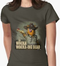 The Wocka Wocka-ing Dead Women's Fitted T-Shirt