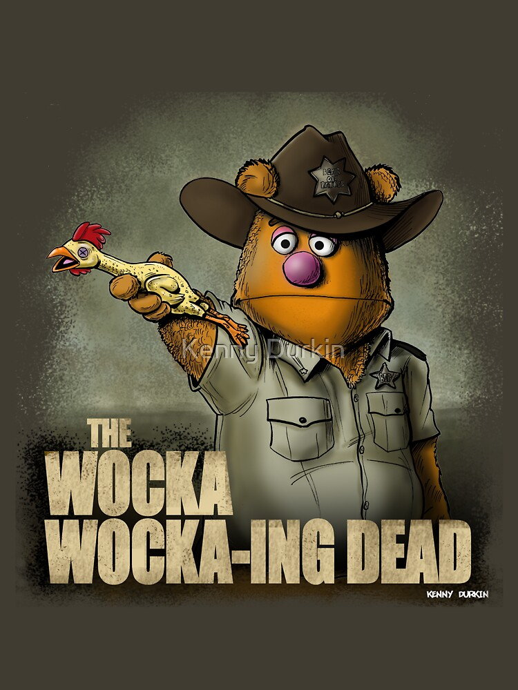 The Wocka Wocka-ing Dead by Durkinworks