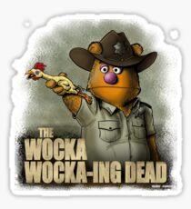 The Wocka Wocka-ing Dead Sticker