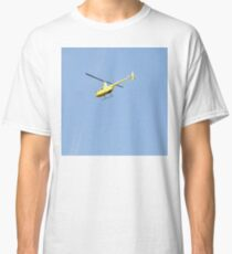 Yellow R44 Helicopter Classic T-Shirt